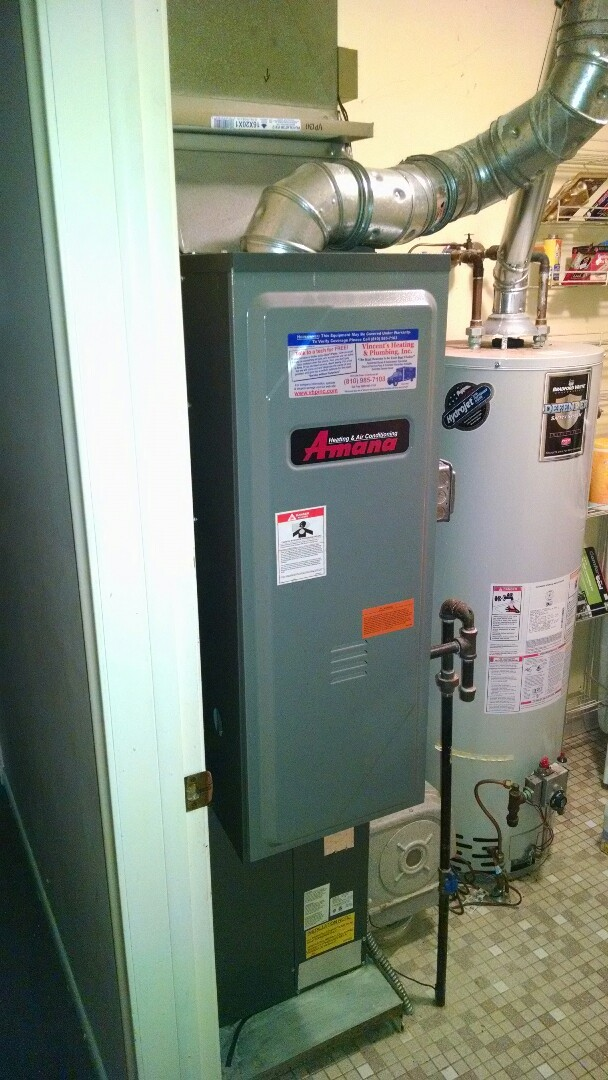 Clay Township, MI - Amana furnace tune up