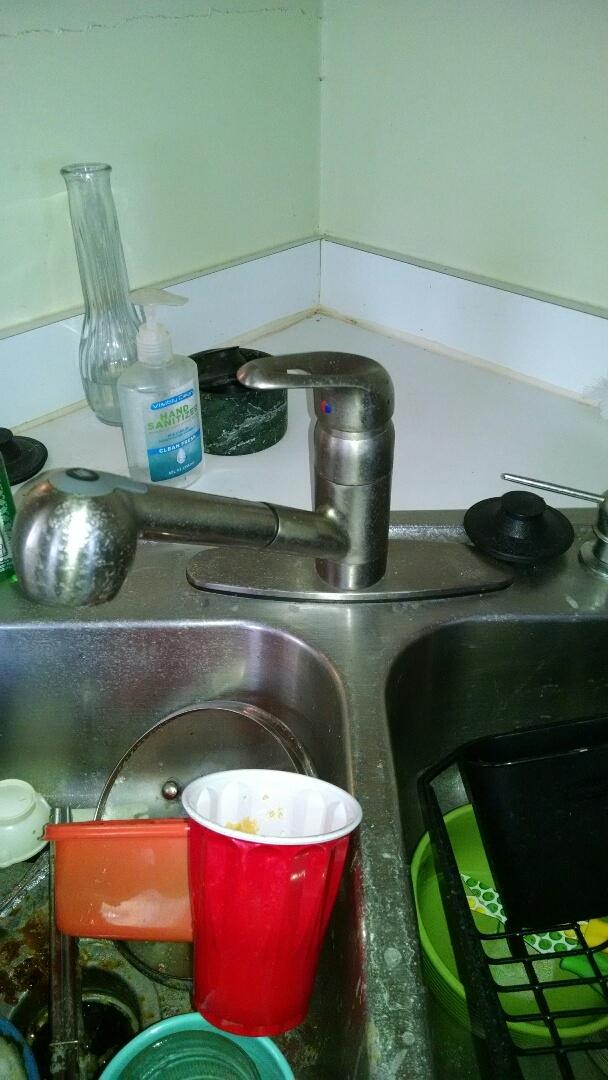 Marine City, MI - Kitchen faucet low water pressure repair
