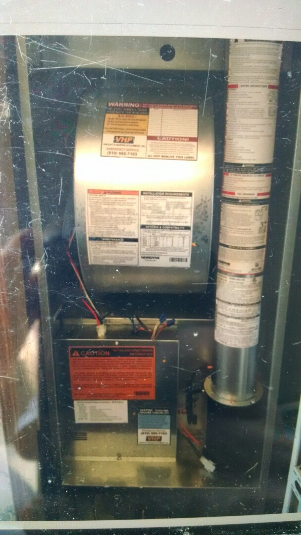 Avoca, MI - Manufactured home furnace install