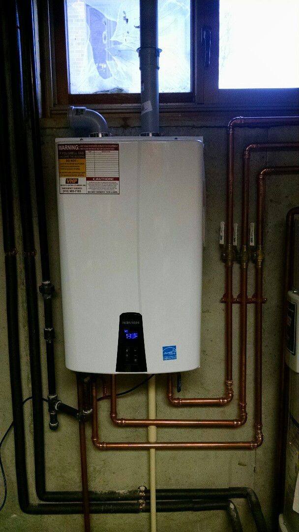 Saint Clair, MI - Navien water heater install