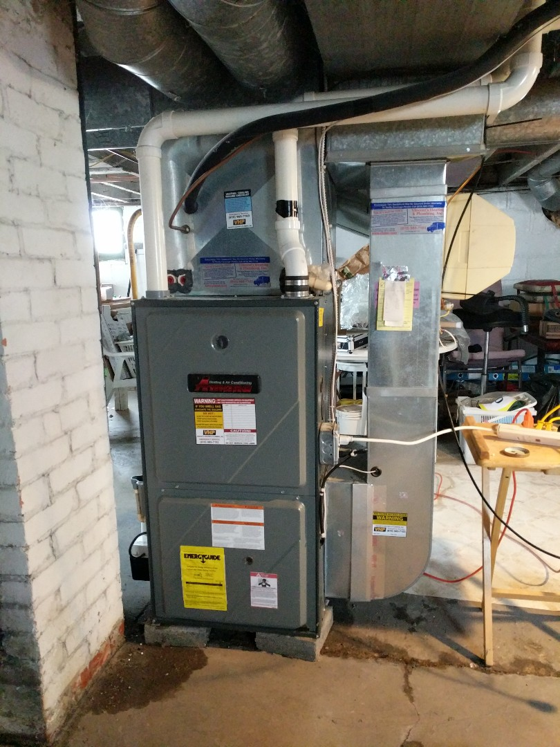 Marine City, MI - Confirm operation of Amana high efficient furnace.