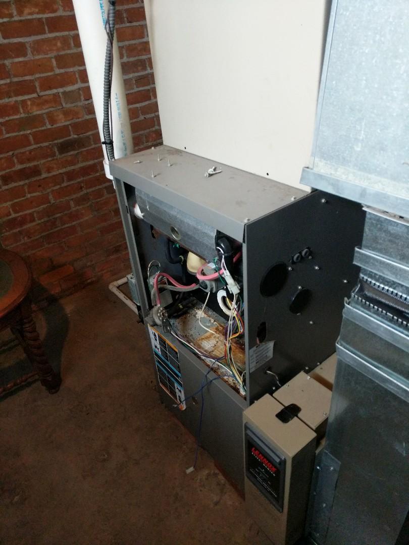 Marysville, MI - Replace Lennox furnace.
