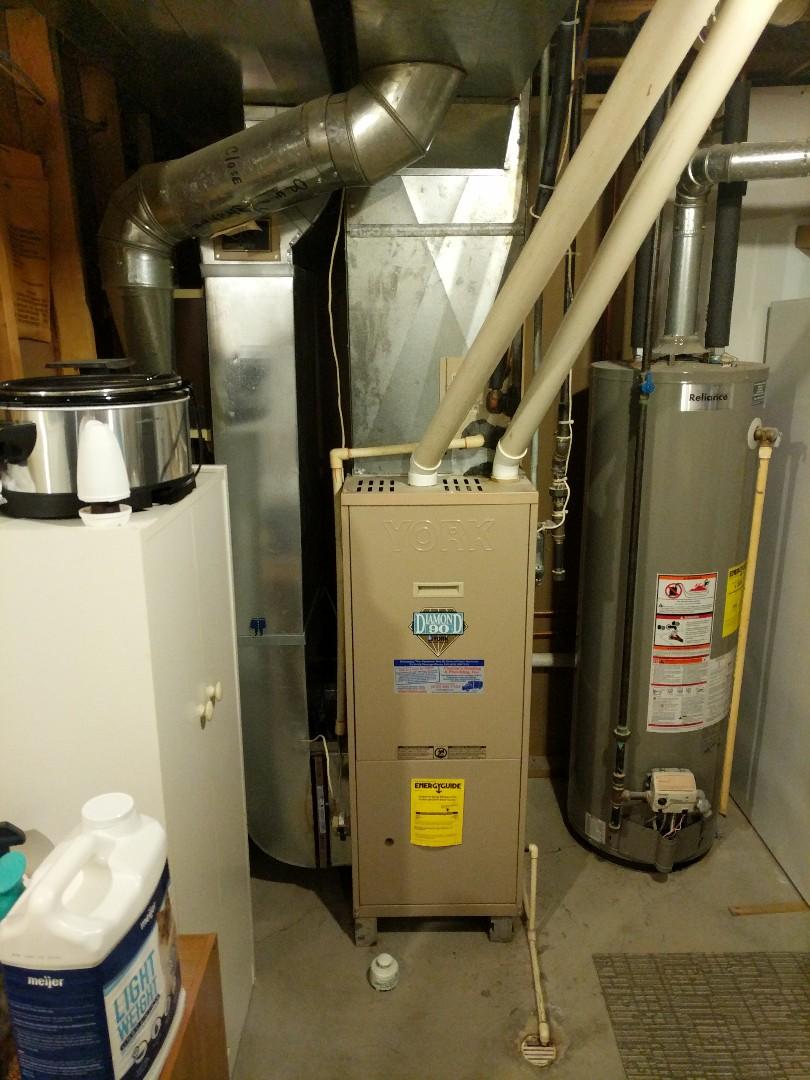 Marysville, MI - Sunday morning furnace repair.