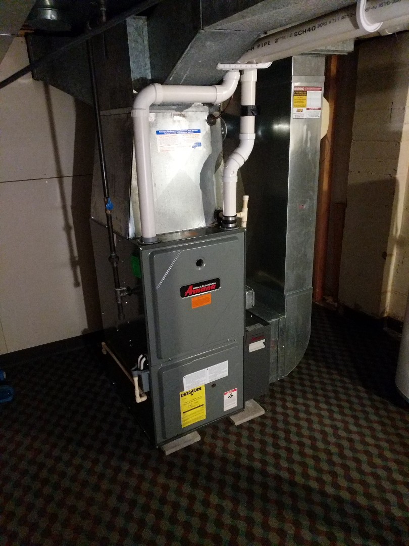 Saint Clair, MI - Amana furnace repair.