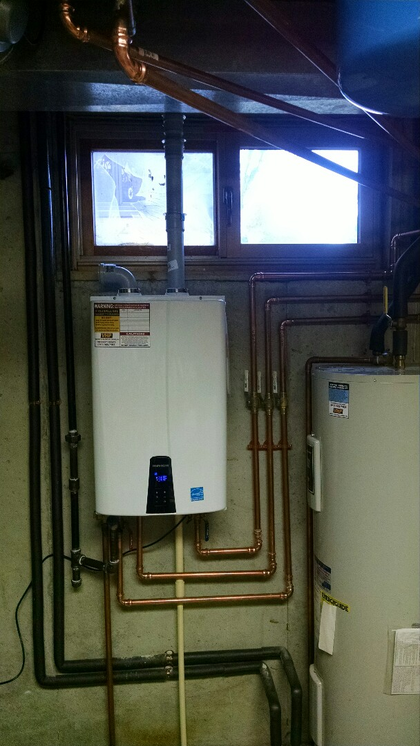 Goodells, MI - Rinnai tankless water heater maintenance