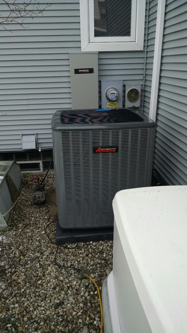 Port Huron, MI - Installation of an Amana furnace and air conditioner. WiFi tstat and humidifier
