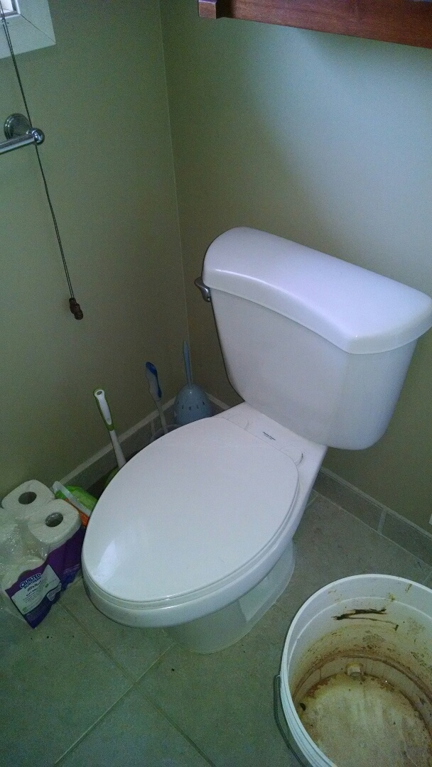 Saint Clair, MI - Install customer supplied toilet