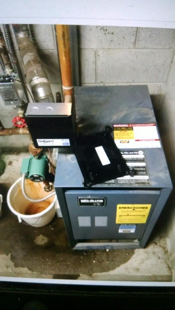Marysville, MI - Weil mc.lain boiler tune up