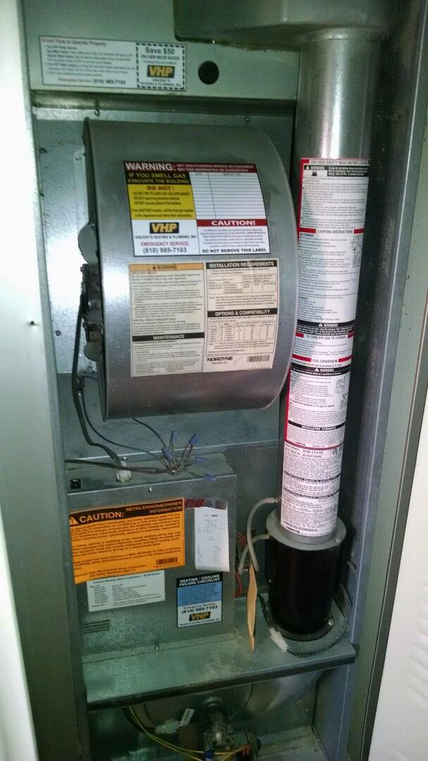 Marysville, MI - Mobile home furnace repair