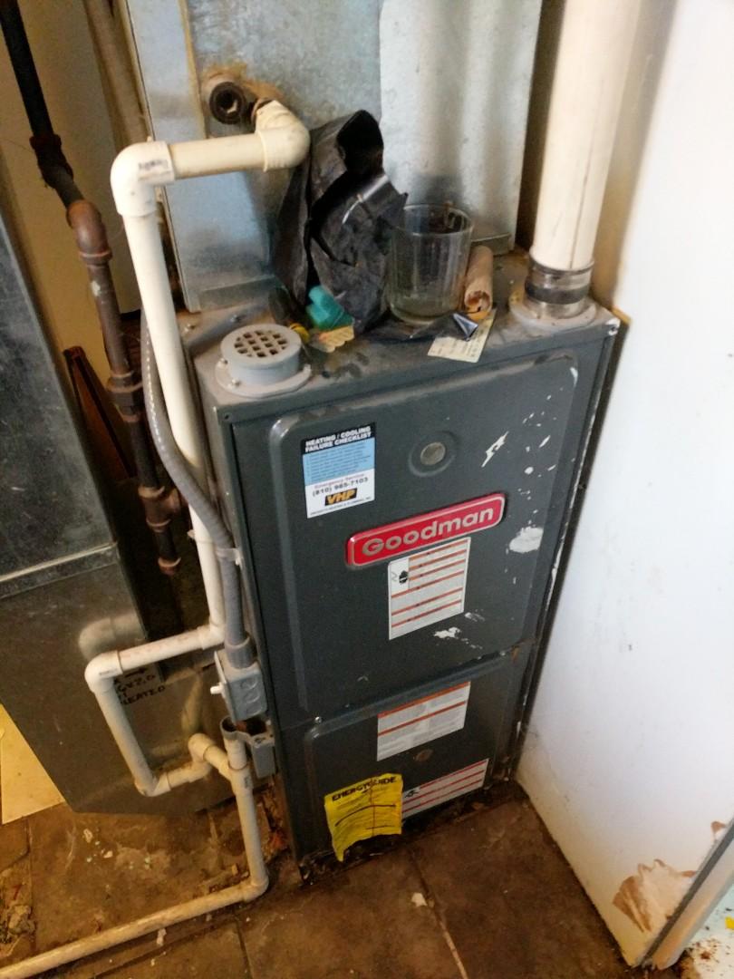 Marysville, MI - Repair Goodman furnace.