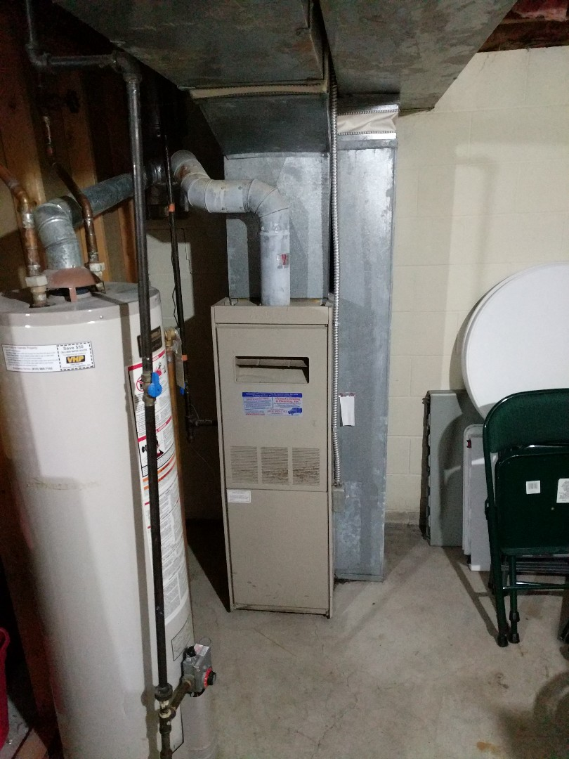 Marine City, MI - Replace Lennox furnace.