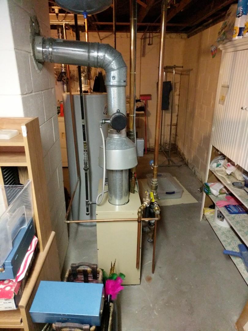 Marysville, MI - Repair Weil McLain boiler.