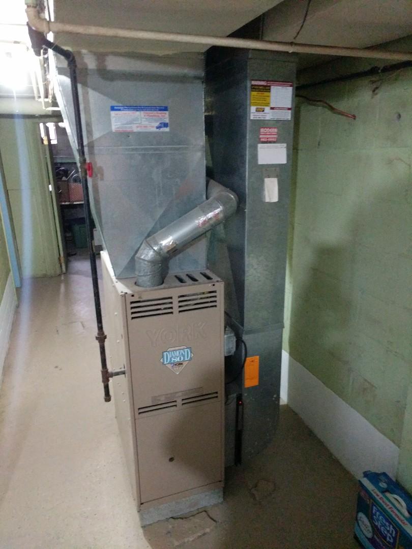 Marysville, MI - Repair Diamond 80 furnace.