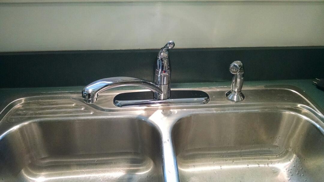 Marysville, MI - Replace moen kitchen faucet