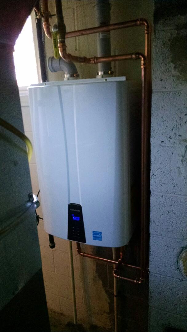 Port Huron, MI - Navien water heater install