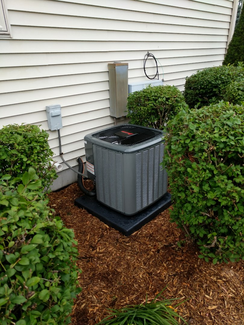Saint Clair, MI - New AC installation.