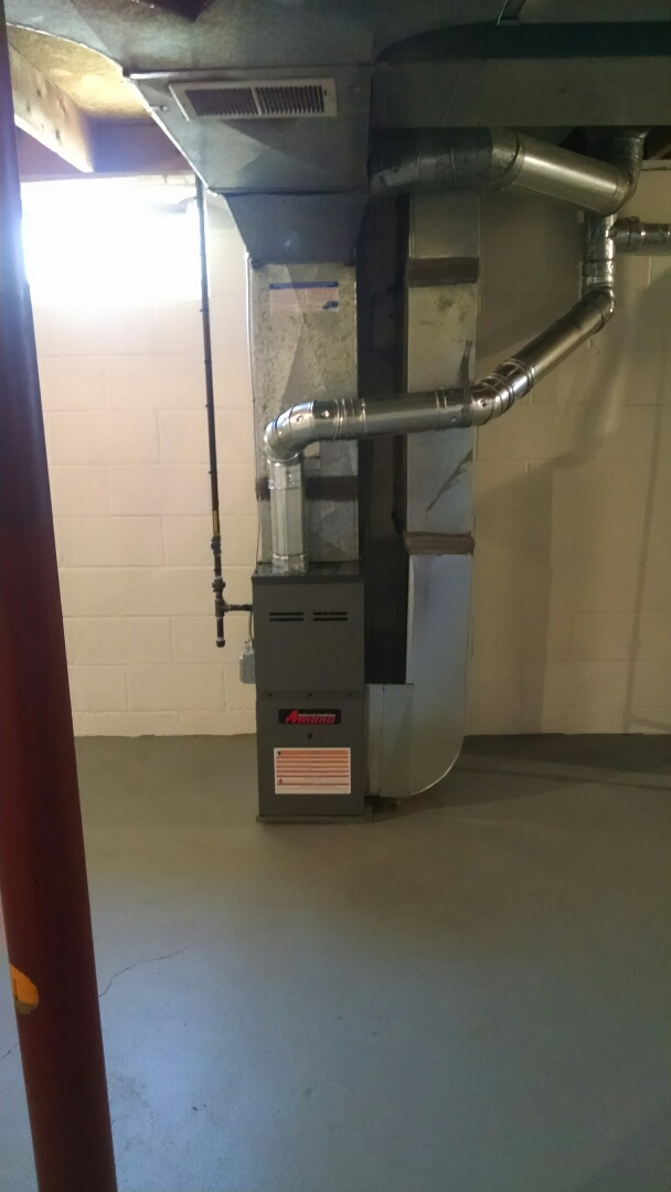 Port Huron, MI - Installation of an Amana furnace