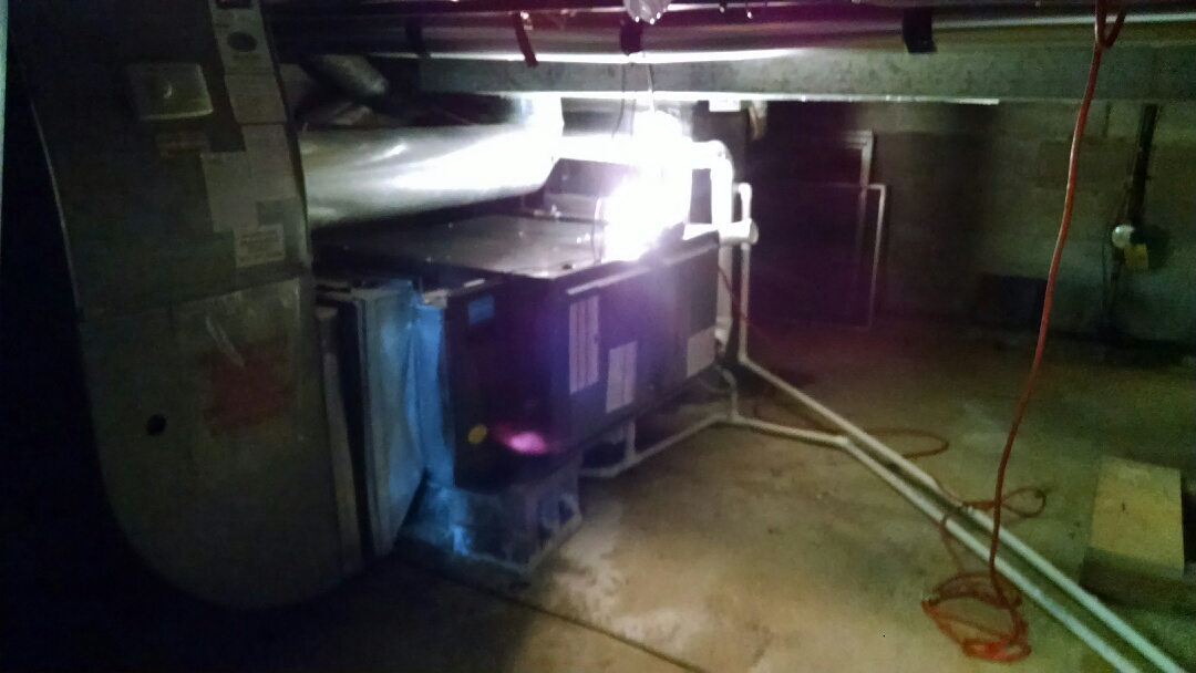 Saint Clair, MI - Installation of an Amana furnace and air conditioner