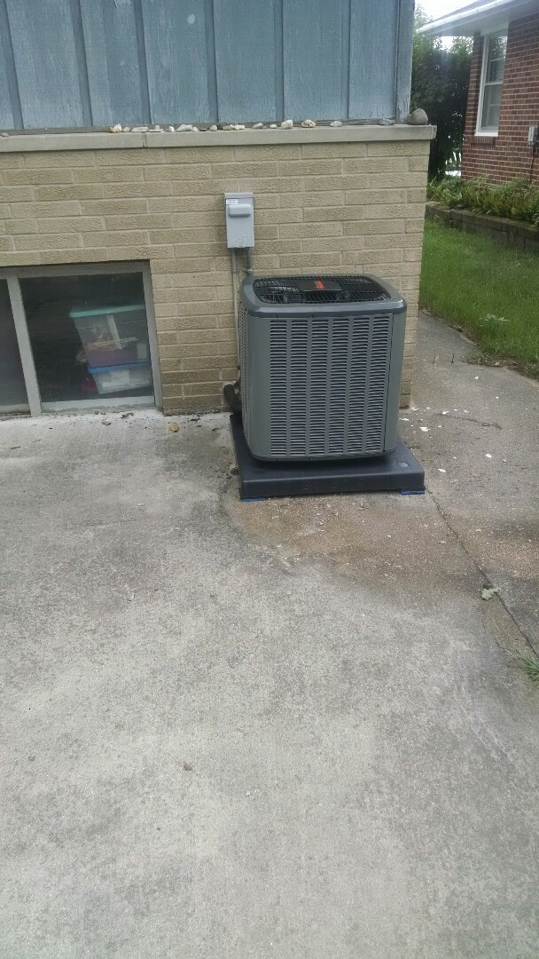 Fort Gratiot Township, MI - Installation of an Amana furnace and air conditioner