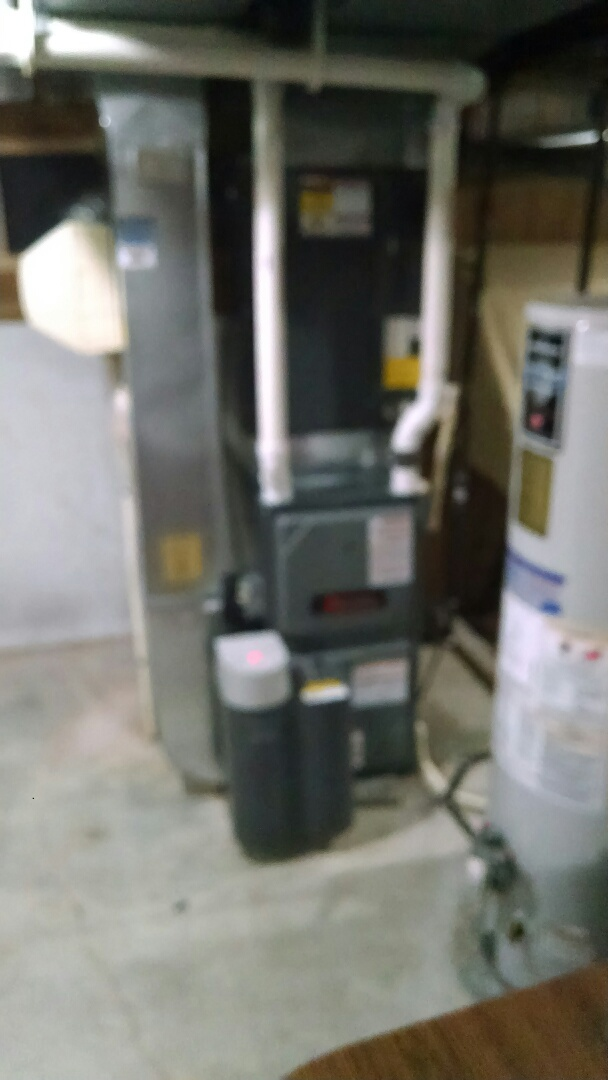 Saint Clair, MI - Installation of an Amana furnace