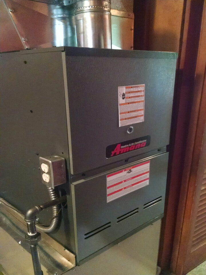 Lexington, MI - Amana furnace install