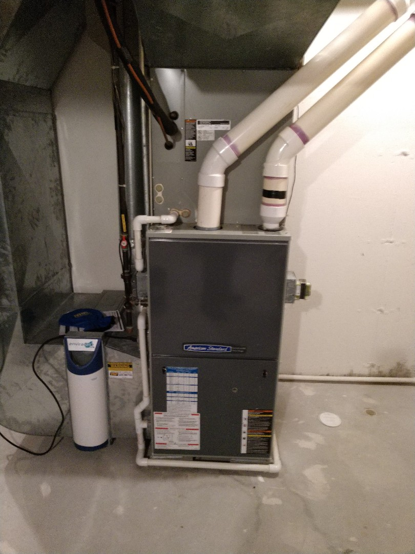 Fort Gratiot Township, MI - Maintenance on American standard furnace