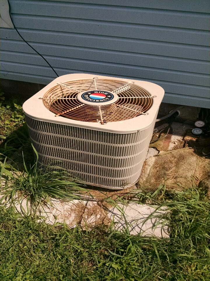 Emmett, MI -  Performed annual AC tune-up & Furnace maintenance.