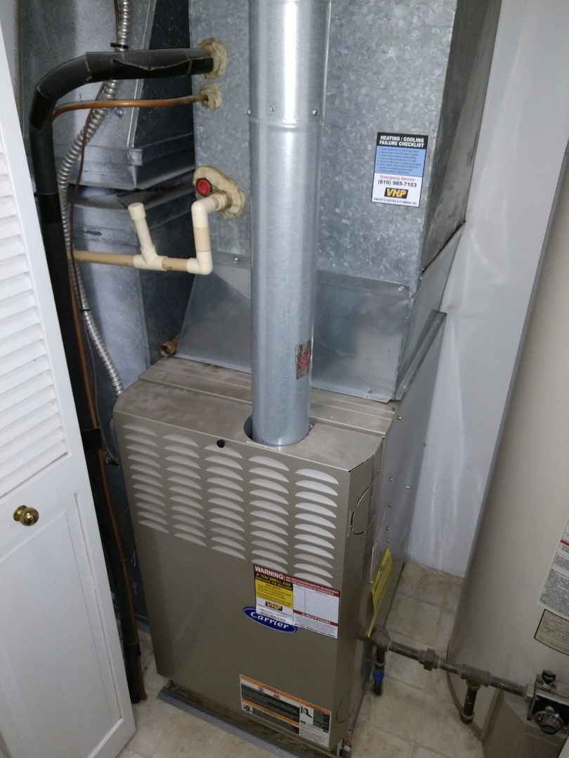Fort Gratiot Township, MI - Carrier furnace tune up