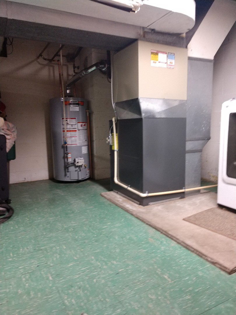 Port Huron, MI - Installation of an Amana furnace. And a State Awater heater.