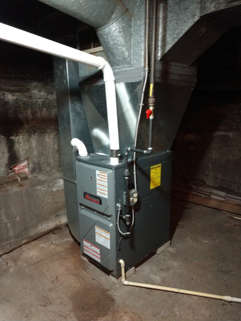 Port Huron, MI - Installation of a Amana furnace