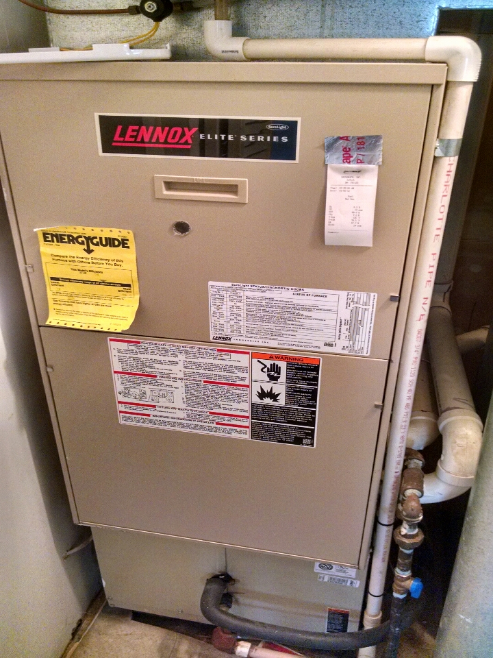 Capac, MI - Performed annual AC tune-up on a amana