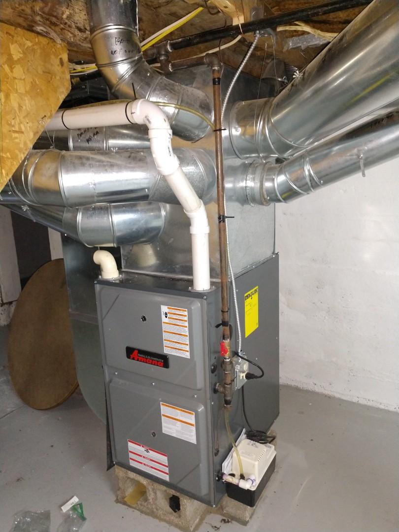 Saint Clair, MI - Amana furnace tune up.