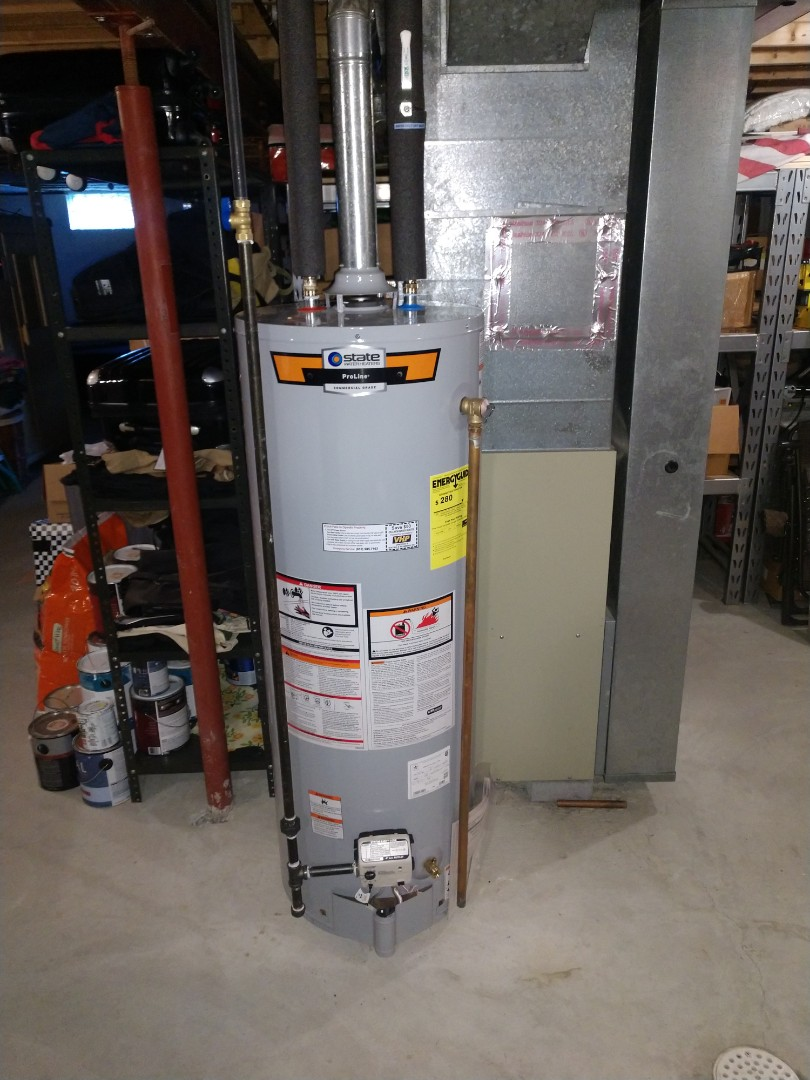 Emmett, MI - 40 gal lp mobile home water heater replacement