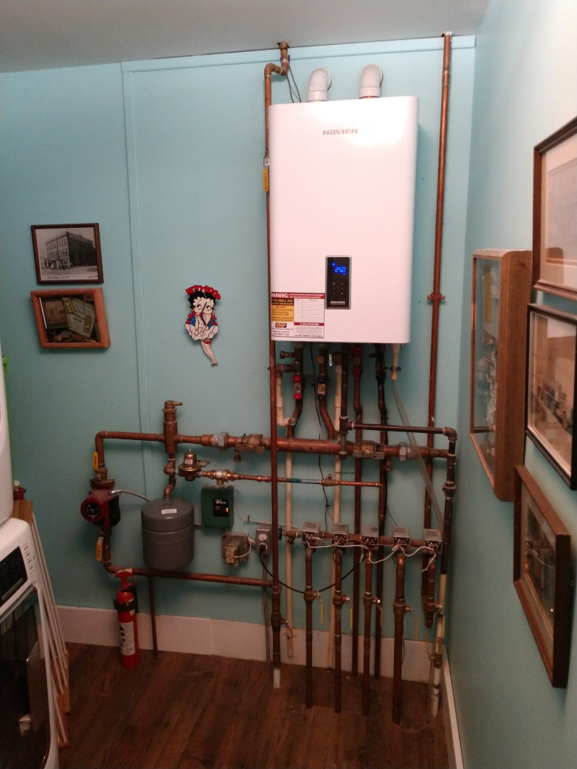 Lexington, MI - Navien Combo boiler repair