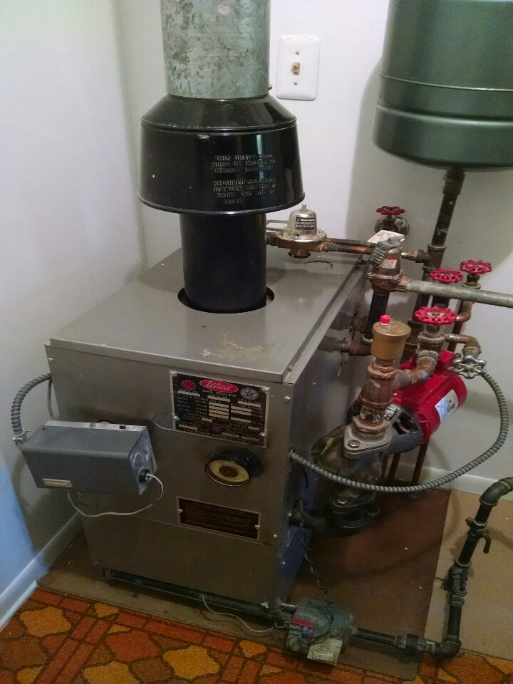 East China, MI - Utica boiler tune up