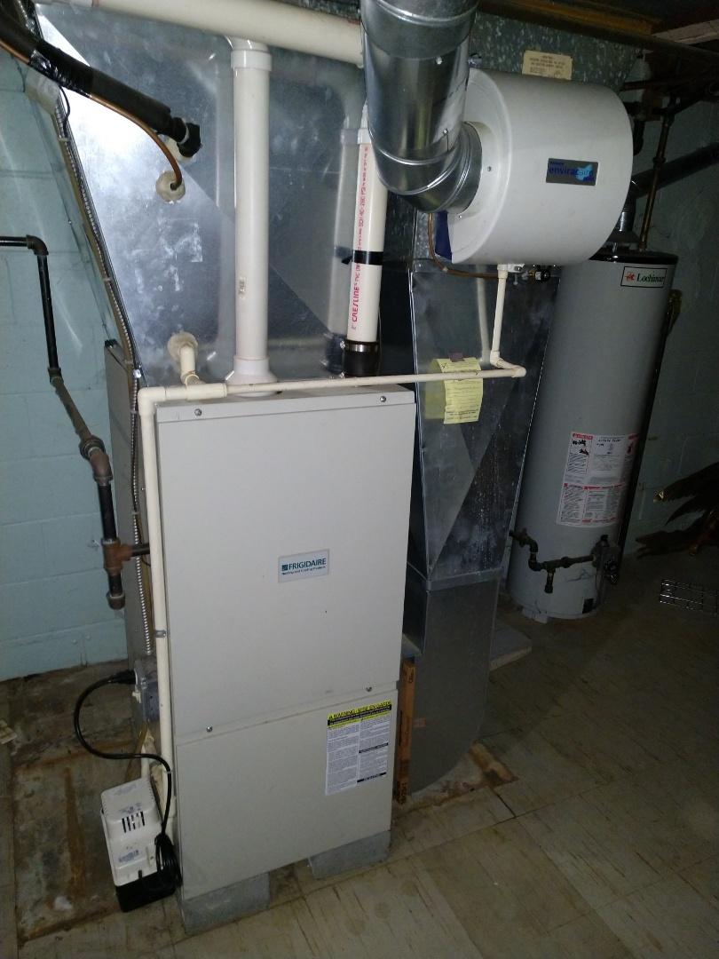 Grant Township, MI - Amana propane furnace tune up