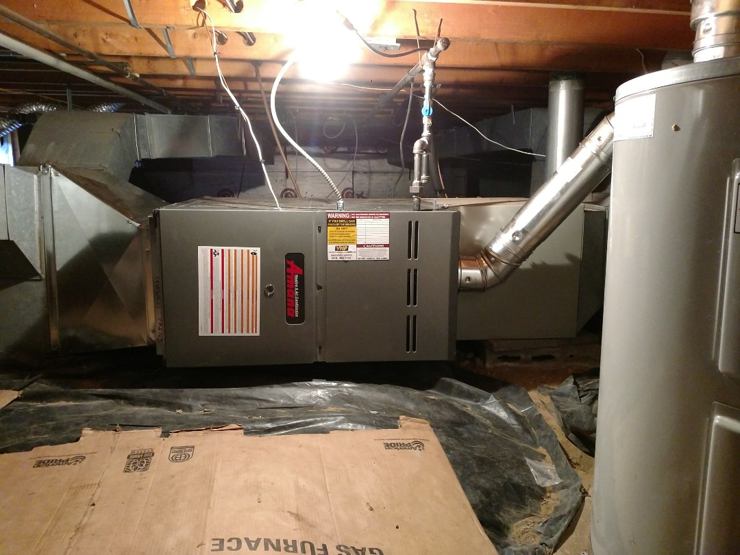 Port Huron, MI - Install new amana. 80% furnace