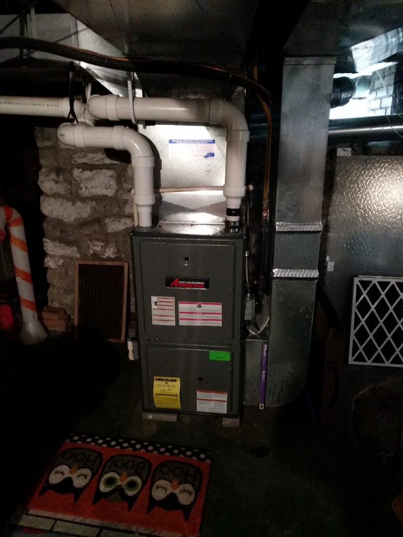 Port Huron, MI - Repair Amana furnace and tune up with it.