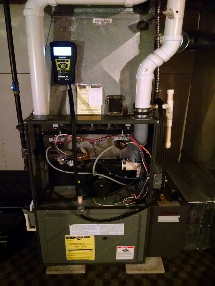 East China, MI - furnace and A/C check.