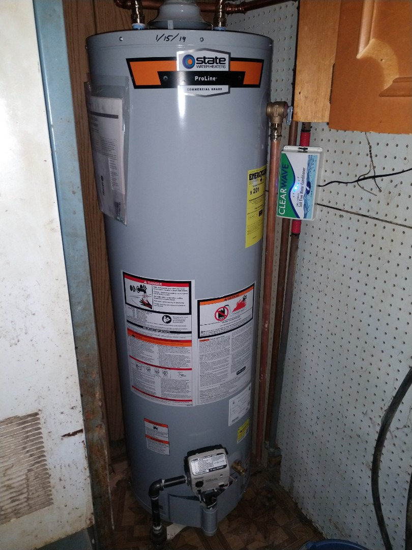 Avoca, MI - Water heater removal
