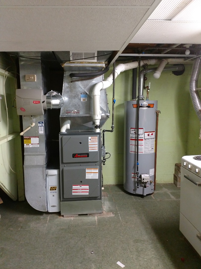 Saint Clair, MI - Install new furnace 96%100btu 40gls heater water