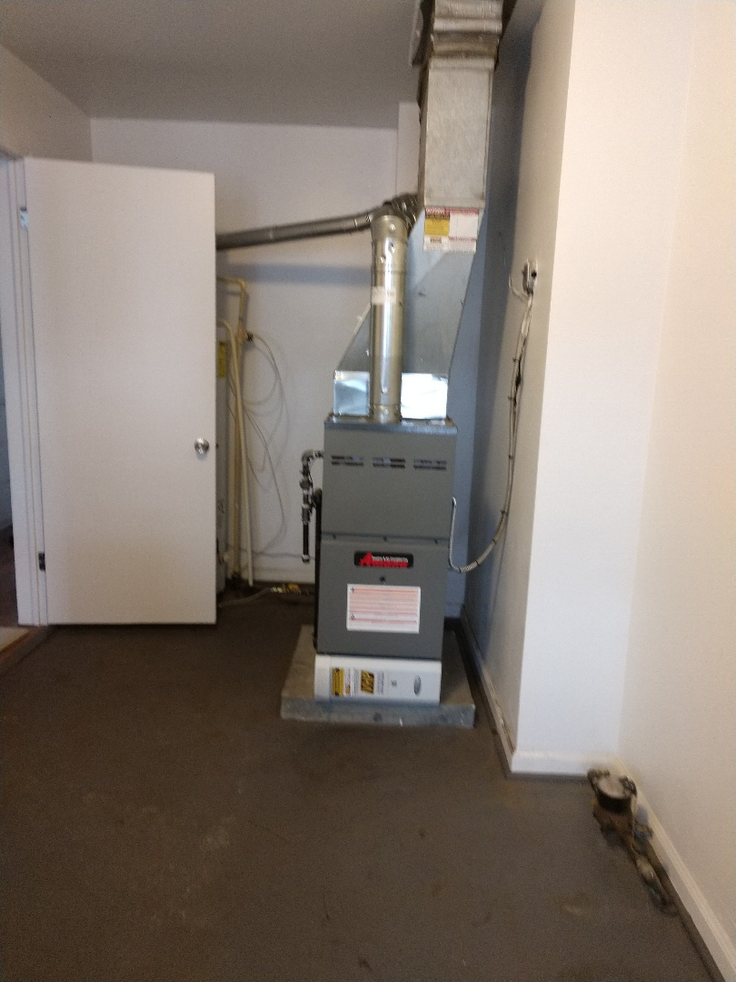 Yale, MI - Installation of an Amana furnace