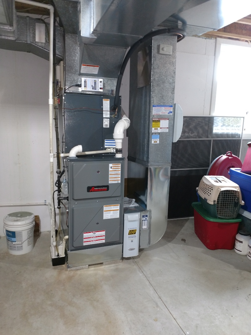 Marysville, MI - Install new furnace 96%100but amana