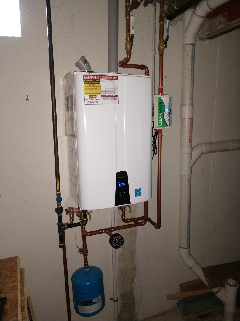 Saint Clair, MI - Installed new tankless water heater