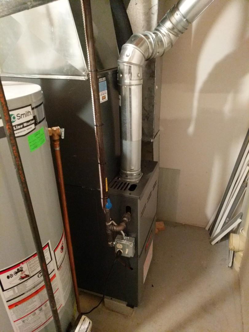 Marysville, MI - Repair Amana furnace under a part warranty.