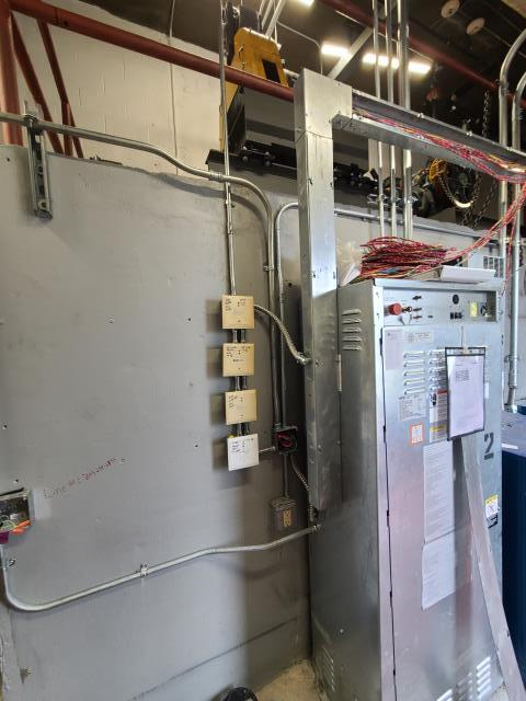 Nashville, TN - Today I wired up a new 480v transformer. Also did a cab light disconnect, fire alarm raceway and added new GFCI in machine rm. If you need Elevator Code Work (Work by Others) in the Greater Atlanta area? Vantix Electric is experienced, certified, and available!