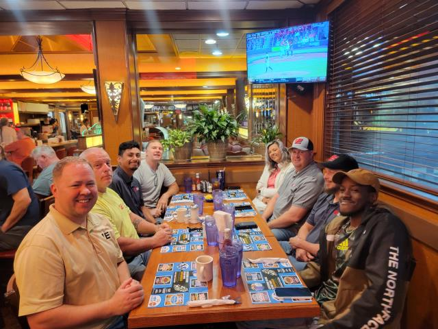 Marietta, GA - Breakfast with the Vantix Electric team!