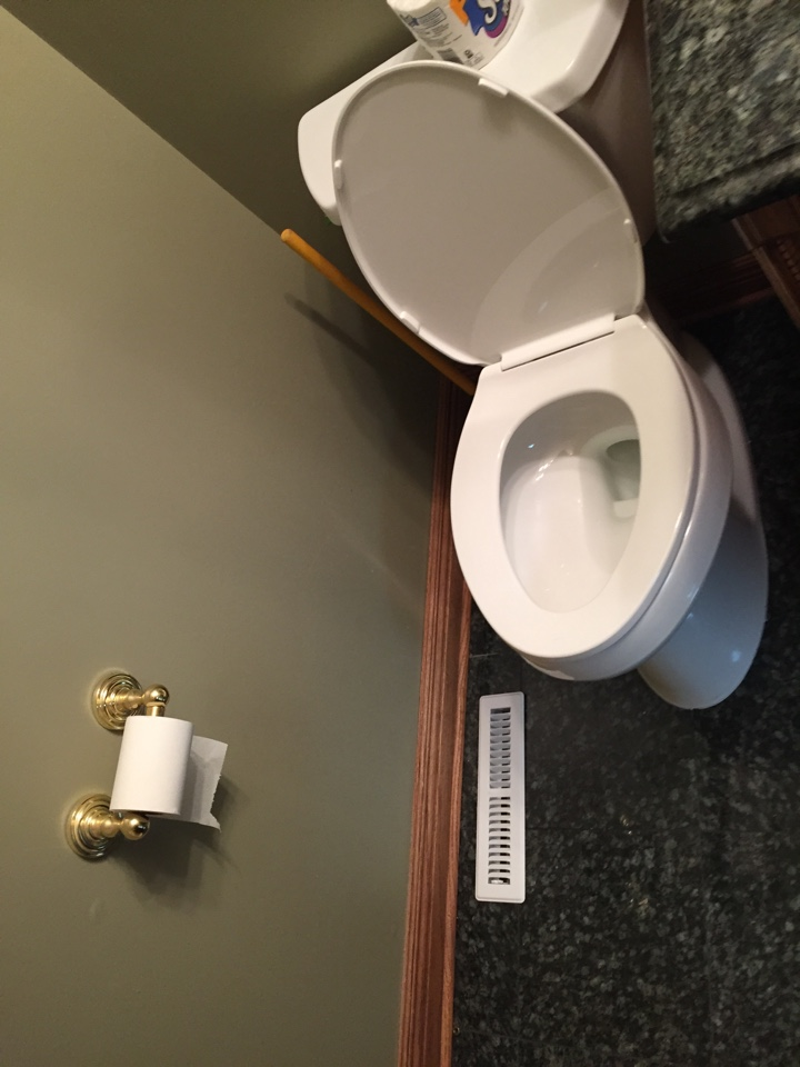 Riverwoods, IL - Installed a new Kohler Toilet in Riverwoods.