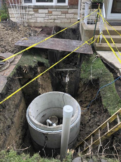 Lincolnwood, IL - Install flood control system.