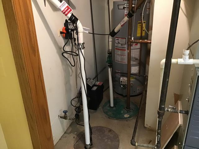 Park Ridge, IL - Joe Installed Pro Series 1850 back up system and Zoller 1/2 HP Sump Pump M98 in Park Ridge.